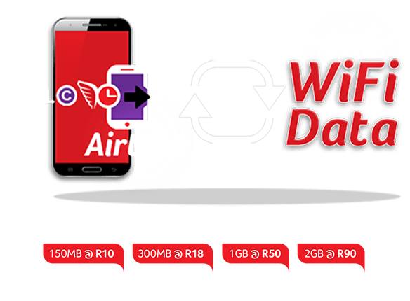 AlwaysOn WIFI data bundles and their prices