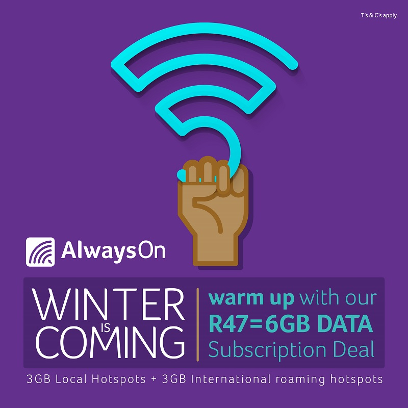 Get your AlwaysOn subscription now
